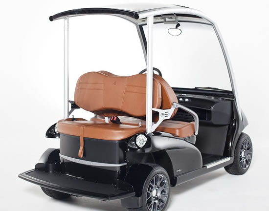 Cruise around in the multi functional Garia 2+2 vehicle