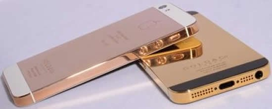 World's first pure gold iPhone 5 launched