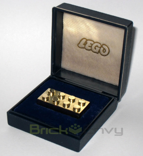 Worlds most expensive and rare gold Lego brick goes on sale