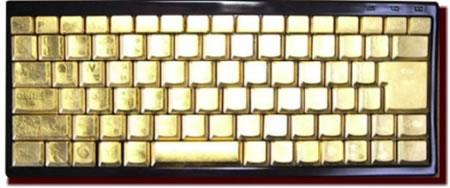 Golden Keyboard Typing Golden Words