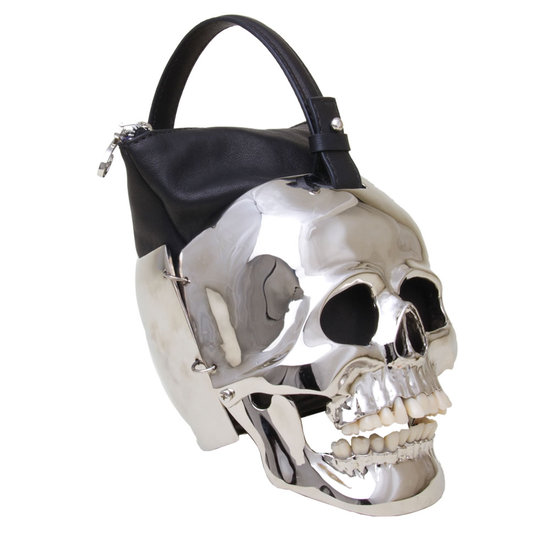 Hamlet Silver Skull Bag 1 Jpg