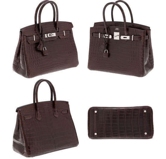 a6f21ce73f This beautiful Nilo Birkin bag is made with Matte Havana Nilo Crocodile  leather and finished with palladium hardware. This 30 cm bag has interiors  in Havana ...
