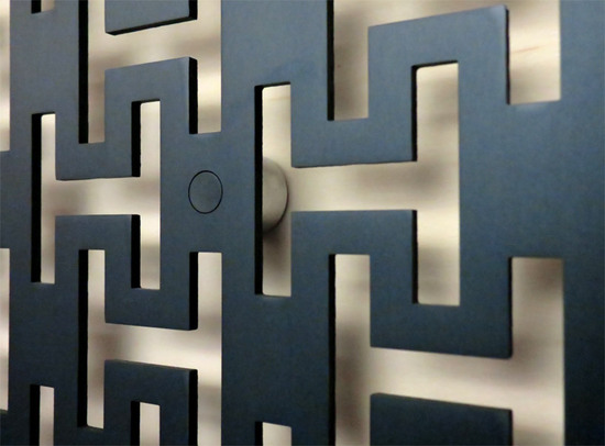 Hermes Introduces Module H Metallic Couture Wallpapers