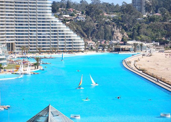 San Alfonso del Mar welcomes you to the world's largest swimming pool