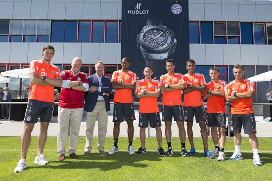 Hublot King Power FC Bayern Munich unveiled to celebrate the German club
