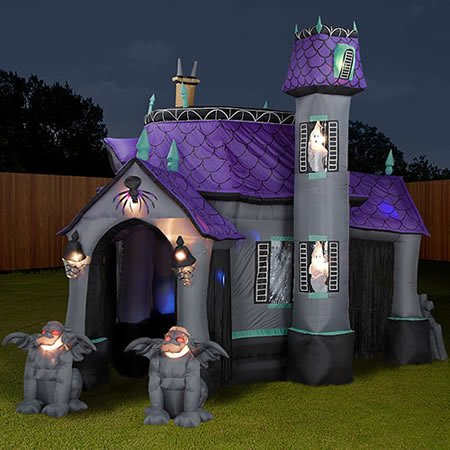 Inflatable Cryptic Halloween Castle for horrifying fun
