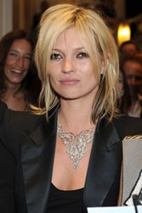 Kate Moss's kiss auctioned for raising charity fund