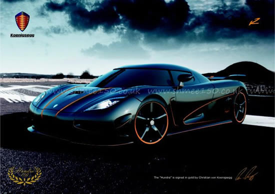 Koenigsegg Agera R Hundra unveiled to mark the 100th production car