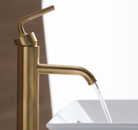 Brushed Gold Bathroom Faucets By Kohler Are Spectacular