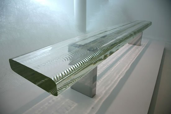 Waterfall By Tokujin Yoshioka Is World S Largest Glass Table