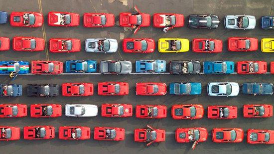 Largest parade of Ferrari cars all set to create new Guinness World Record