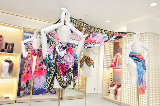Louis Vuitton Foulards dArtistes scarf collection debuts in Tokyo