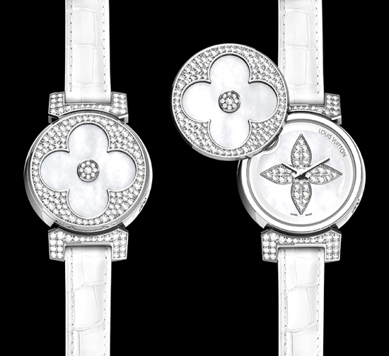 Louis Vuitton Tambour Bijou Secret watches launched