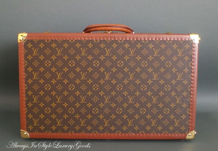 Vintage Louis Vuitton Shoe Trunk