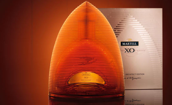 The Martell XO Architect Edition by Christian de Portzamparc will be exclusive to Duty free shops in Asia