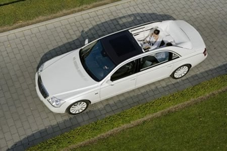 Maybach Customized In Gold Granite Or Business Packages