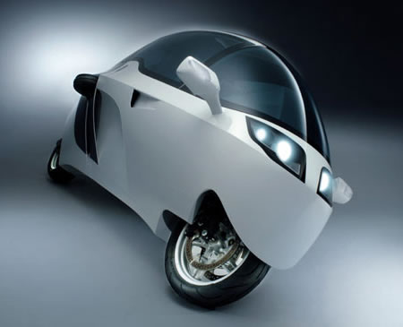 The MonoTracer enclosed bike