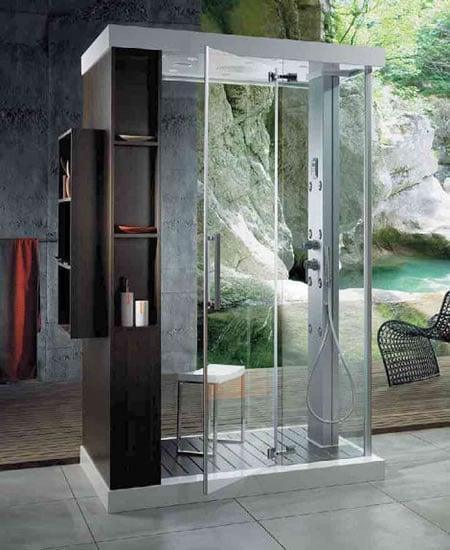 Bathroom Light Electrical Box For Home Design Elegant: Shower Cabin Anthropos- The Multi-function Shower Cabin
