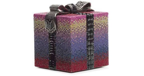 Judith Leiber Ombre Gift package minaudière