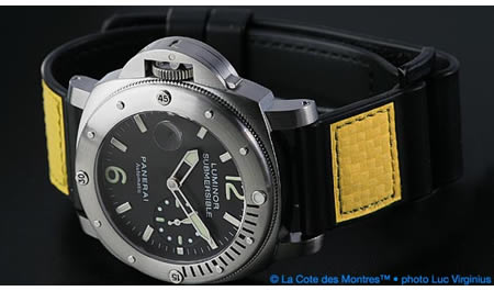 Officine Panerai Luminor Submersible Lefty for Chronopassion
