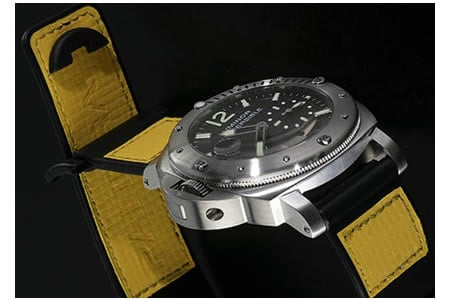 photo Panerai Luminor Submersible Lefty for Chronopassion replica