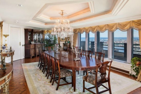 An Octagon Shaped Penthouse Worth 100 Million Is