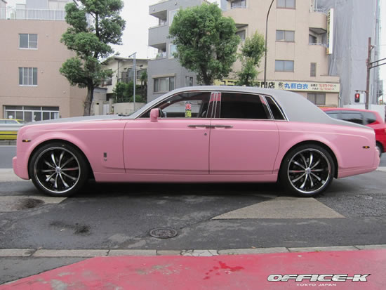 Another Pink Rolls Royce Dares To Come Out In Open