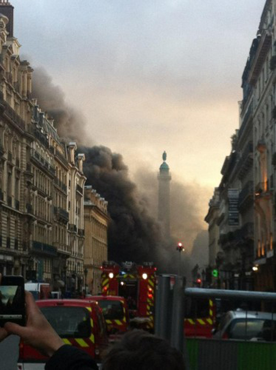 fire burns down exotic supercars at place vendome parking lot. Black Bedroom Furniture Sets. Home Design Ideas