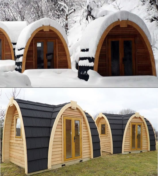 PODhouse ups the comfort quotient while camping in the winters