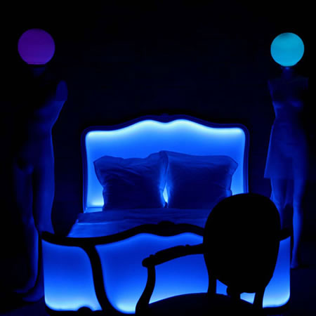 Poesy Bed By Philippe Boulet Will Light Up Your Room In A