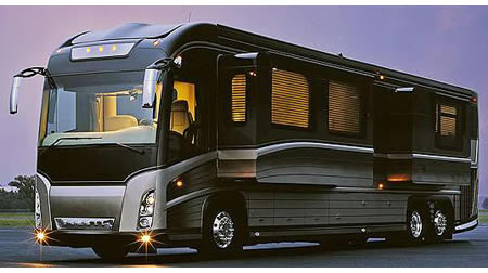 Newell Redesigned P2000i Rv With A Hint Of Porsche