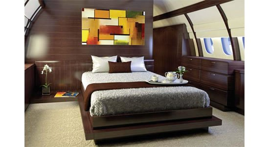 Gallery For Gt Inside A Private Jet With A Bedroom