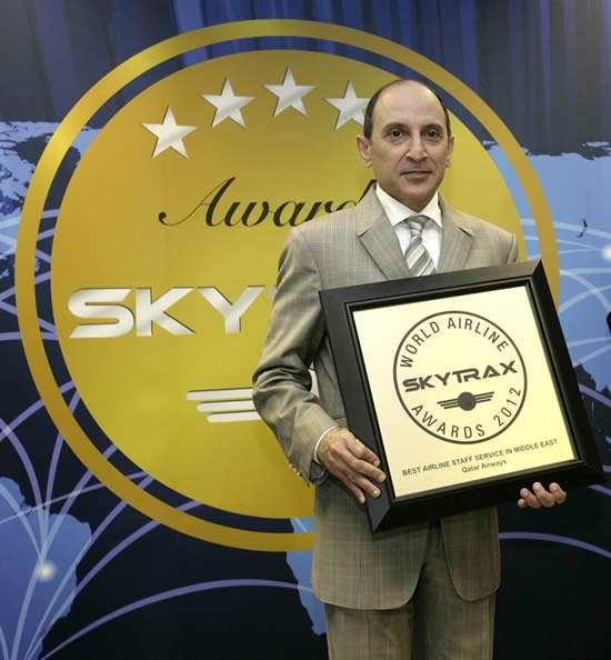 Qatar Airways is awarded Worlds Best Airline for the second consecutive year
