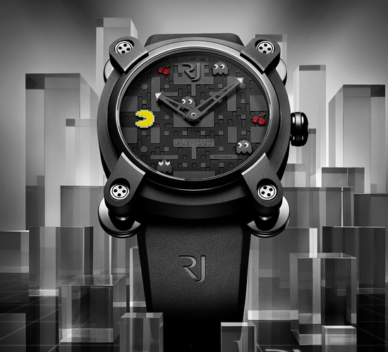 RJ Romain Jerome Pac Man watch unveiled