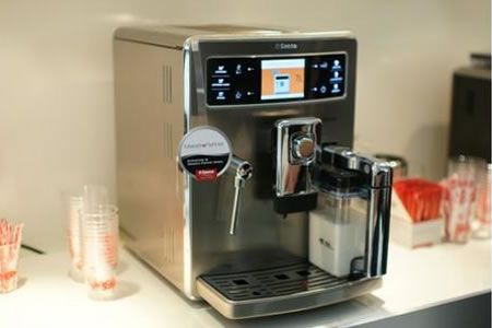 Saeco Xelsis High End Coffee Maker Lets You Customize