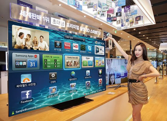 Samsung ES9000 75 inch smart TV unveiled in Korea