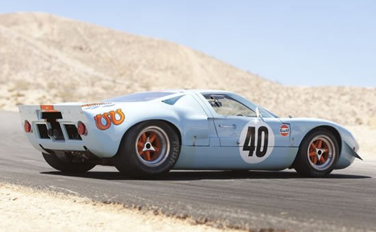 Steve Mcqueen S Gt40 Fetched 11 Million Making It The