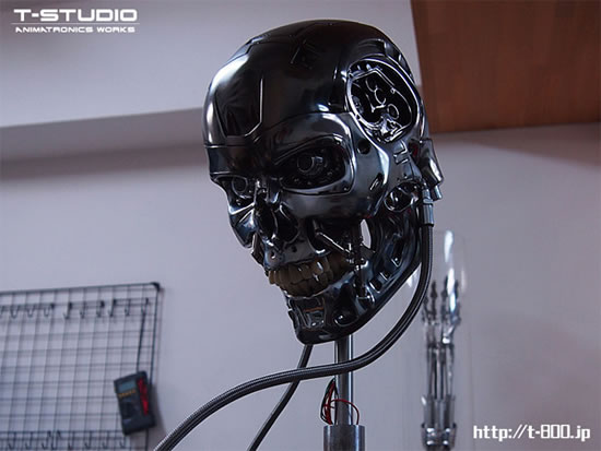 Bugatti Veyron Price 2015 >> The most realistic T-800 animatronic Terminator bust