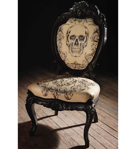 Tattoes chair by Mama Tried is outrageously sinful
