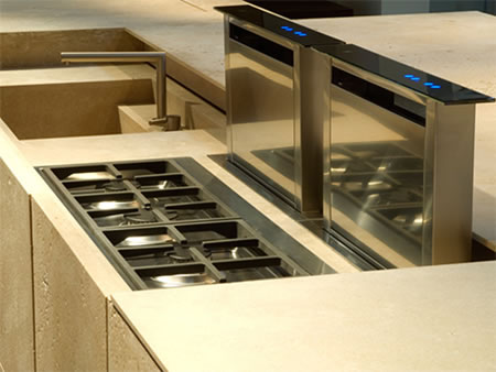 Tm italia s petra and mondrian kitchens are not just an for Luxury kitchen designs 2012
