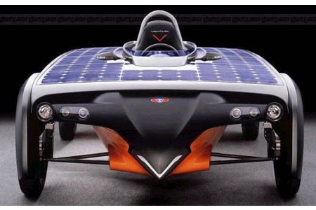 Debut of Venturi's Astrolab; the solar electric hybrid car