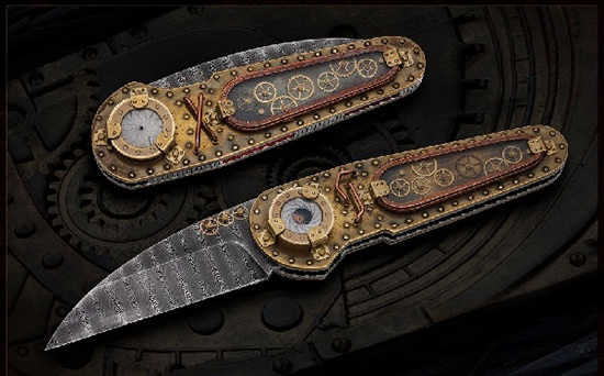 Van Barnett Time Machine Knife Tells Tales And Not Time