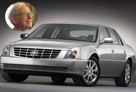 Bill Black Cadillac >> World's richest people and the cars they drive