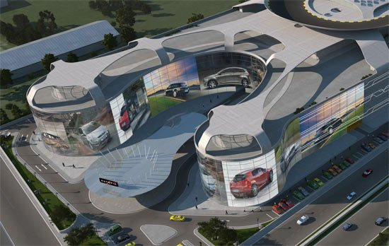 The World Biggest Car Mall Will Come With A Rooftop