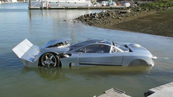 Worlds fastest amphibious car is up for sale