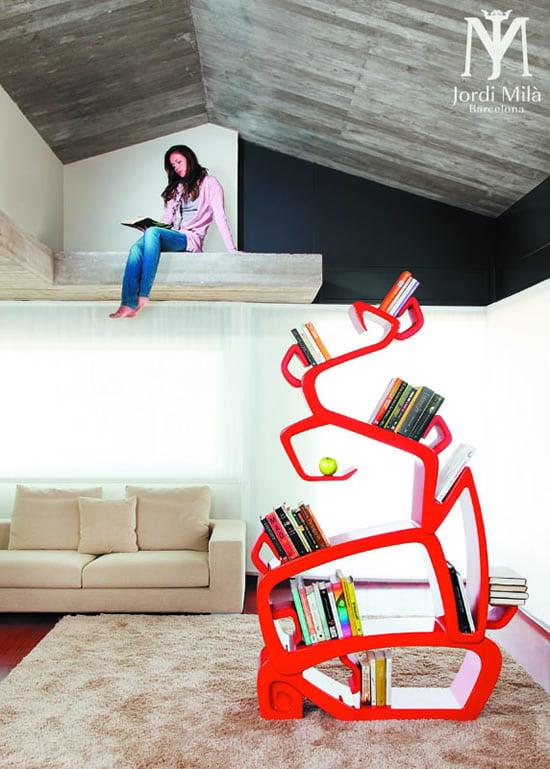 Wtree Bookshelf