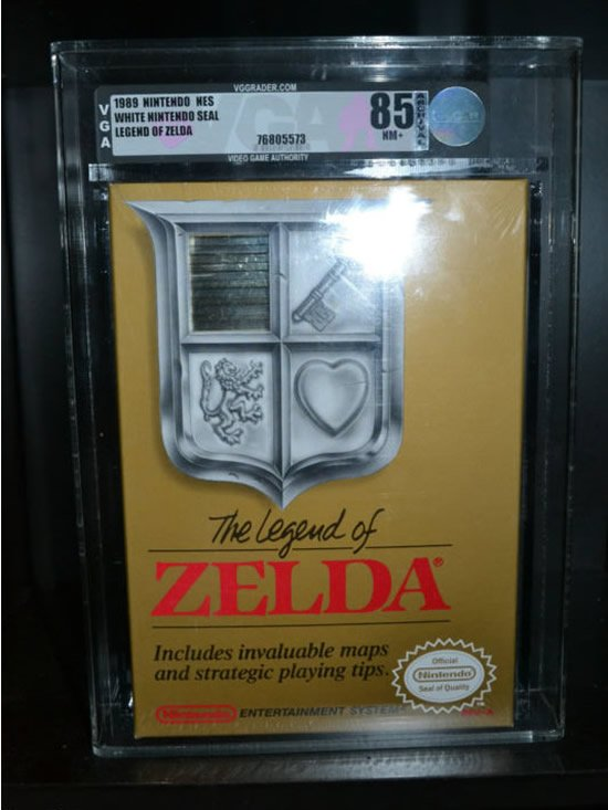 Legend of Zelda Prototype is up on eBay for $150,000