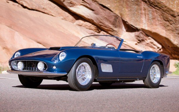 1958 Ferrari 250 GT LWB California Spider classic sports car sells for $8,250,000