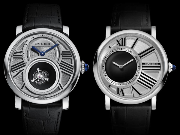 Cartier unveils Rotonde de Cartier Mysterious Double Tourbillon and Rotonde de Cartier Mysterious Hours at SIHH 2013