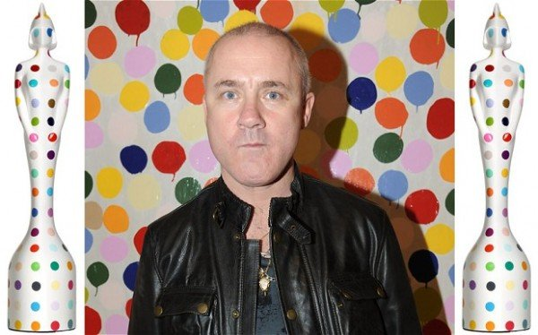 Damien Hirst redesigns the Brit Awards statue